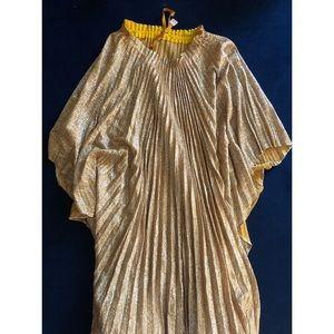 Gold Vintage Caftan Gown